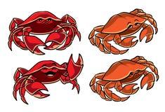 Gulliga små krabbor Royaltyfria Bilder