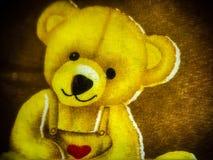 Gulliga tecknad filmbilder av björnar arkivfoto