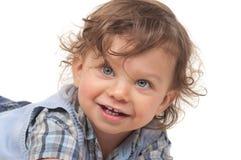 gulligt barn Arkivfoton