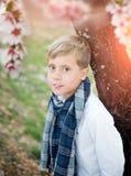 gulligt barn för pojke royaltyfria bilder