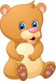 Gulligt behandla som ett barn björntecknad film Royaltyfri Fotografi