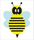 Gulligt bi. Fotografering för Bildbyråer