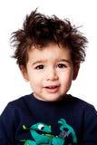 Gulligt förtjusande litet barnuttryck Royaltyfria Foton