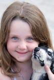 gulligt flickabarn arkivfoton