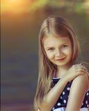 gulligt flickabarn Royaltyfria Bilder