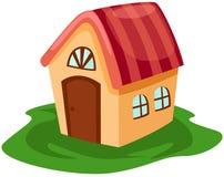gulligt hus little Arkivbild