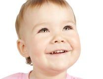 gulligt leende för barn royaltyfri bild
