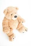 Gulligt sitta för nallebjörn Arkivfoto