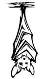 Gulligt slagträ royaltyfri illustrationer