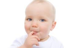 gulligt spädbarn Arkivfoton