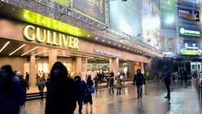 Gulliver complexe multifonctionnel à Kiev, Ukraine, banque de vidéos