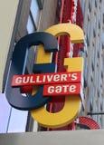 Gulliver` s Poort Stock Foto's
