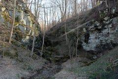 gully arkivfoton