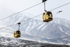 Gulmarg gondola Royalty Free Stock Photography