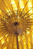Skugga av guling. Royaltyfria Bilder