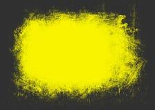Gulnad grungebakgrund Arkivbilder