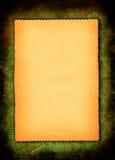 gulnat paper stycke Arkivfoto