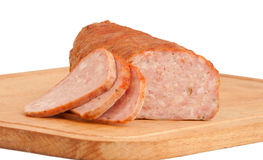 Guloseimas da carne na placa Fotografia de Stock