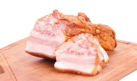 Guloseimas da carne na placa Foto de Stock