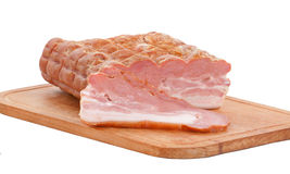 Guloseimas da carne na placa Fotografia de Stock Royalty Free