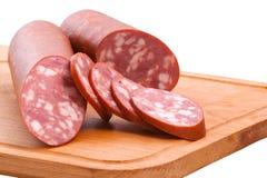 Guloseimas da carne na placa Imagem de Stock Royalty Free