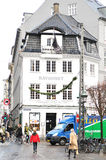 gult copenhagen museum Royaltyfri Bild