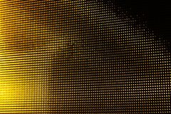 Gult exponeringsglas ser igenom abstrakt begrepp Arkivfoto