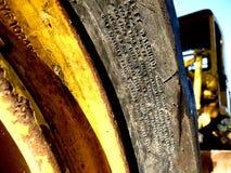 gult ljus av en lastbil arkivfoto