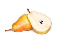 Gult päron Arkivbild