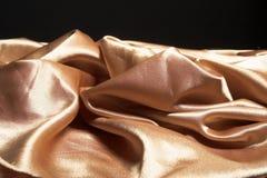 Gult silke Royaltyfri Bild