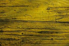 Gult skrivbord Bakgrund Fotografering för Bildbyråer