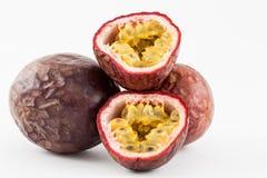 Gulupa Passiflora edulis fo Edulis Royaltyfri Bild