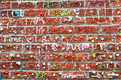 Gum Alley Seattle. Pike Place royalty free stock images