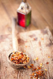 Gum arabic, also known as acacia gum Stock Images
