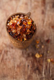 Gum arabic, also known as acacia gum Royalty Free Stock Images