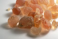 Gum arabic Stock Photography