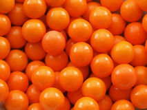 Gum Ball Background. Orange gum ball background or texture stock photography