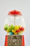 Gum Ball Machine. A studio photo of a vintage gum ball machine Royalty Free Stock Photography
