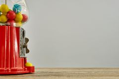 Gum Ball Machine. A studio photo of a vintage gum ball machine Stock Images