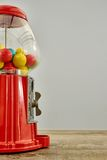 Gum Ball Machine. A studio photo of a vintage gum ball machine Royalty Free Stock Image