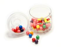 Gum balls Royalty Free Stock Images