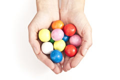 Gum balls Stock Photos