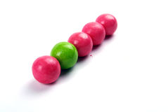 Gum balls. Royalty Free Stock Image