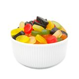 Gum in a bowl Stock Photo