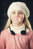 Gum bubble Royalty Free Stock Images