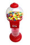 Gum machine. Chewing gum machine with gumballs. Insert coin and get the ball Stock Photography