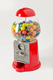 Gum machine. Gumball machine on a white background Stock Photos