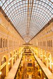 Gum megatore in moscow. Gum the most biggest megastore in moscow Royalty Free Stock Images