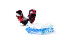 Gum shield Royalty Free Stock Image
