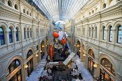 Gum shopping centre interior, Moscow Stock Photos